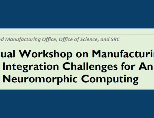 Virtual Workshop on Manufacturing and Integration Challenges for Analog and Neuromorphic Computing
