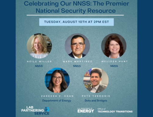 Celebrating Our NNSS: The Premier National Security Resource